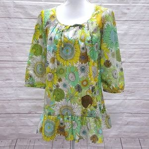 Liberty of London for Target Sunflower Top Size M